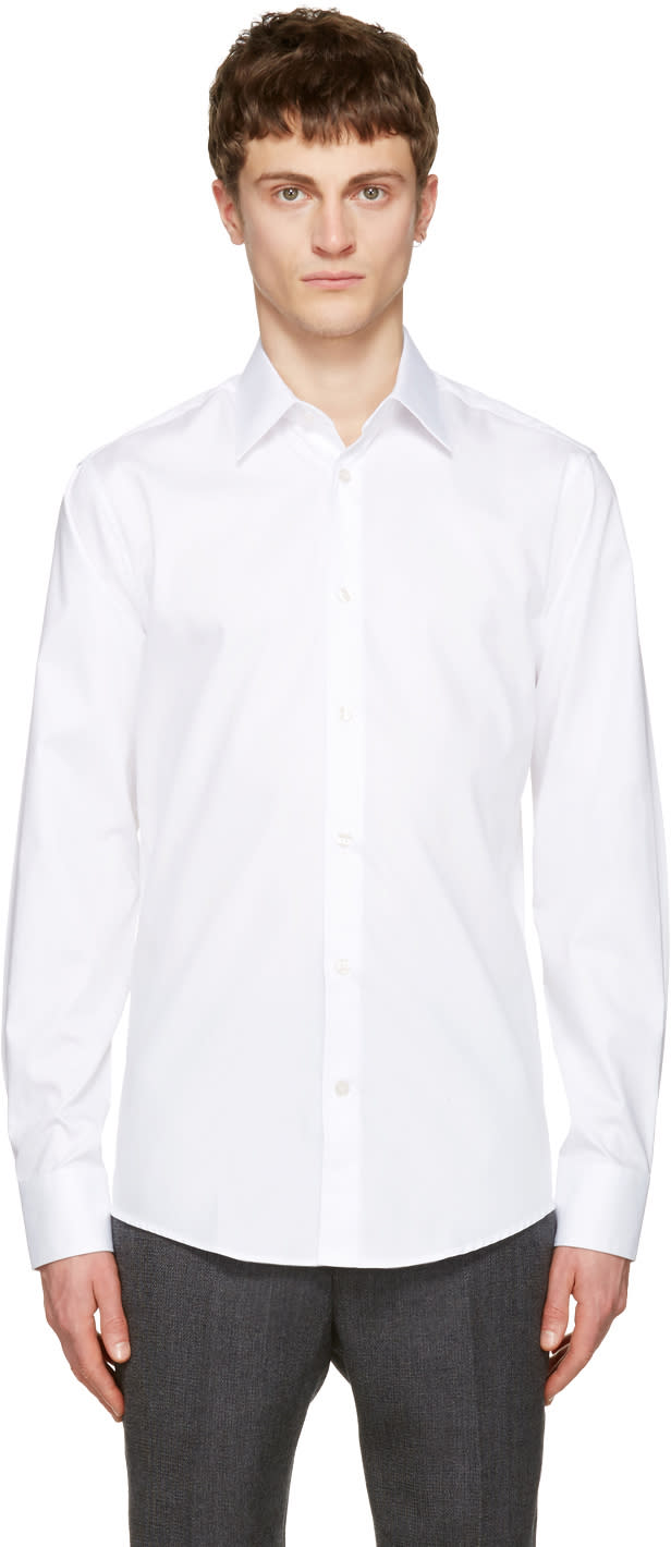Tiger Of Sweden White Farrell Shirt