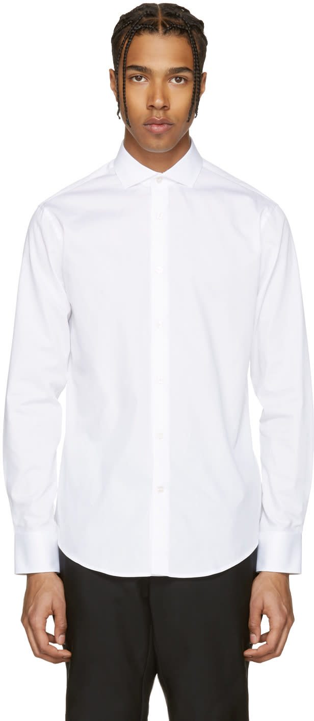 Tiger Of Sweden White Farrell 5 Shirt