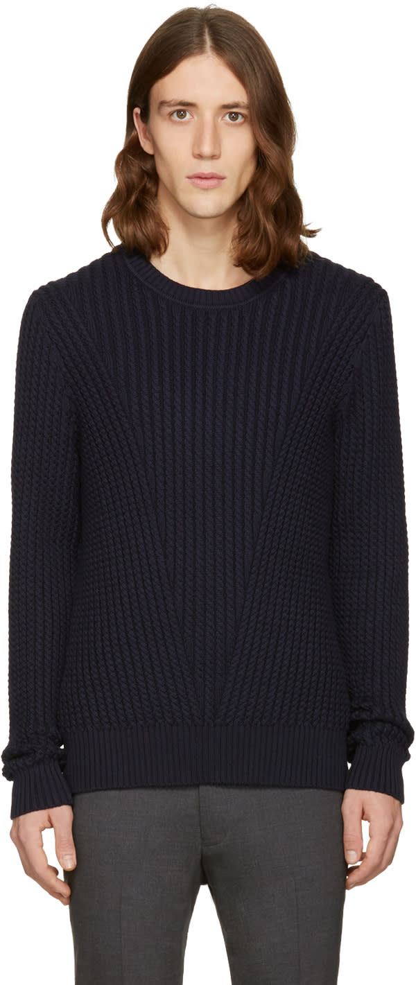 Tiger Of Sweden Navy Addams Sweater
