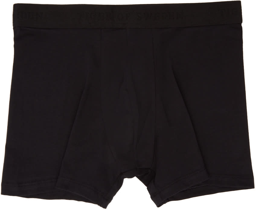 Tiger Of Sweden Three-pack Black Ohlsen Boxer Briefs