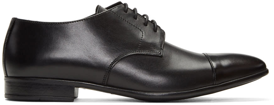 Tiger Of Sweden Black Kohlman Derbys