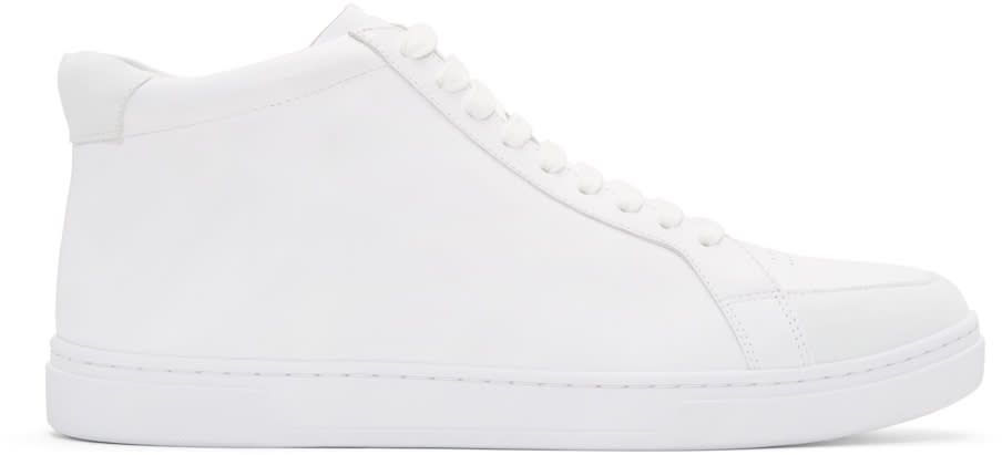 Tiger Of Sweden White Arne High-top Sneakers