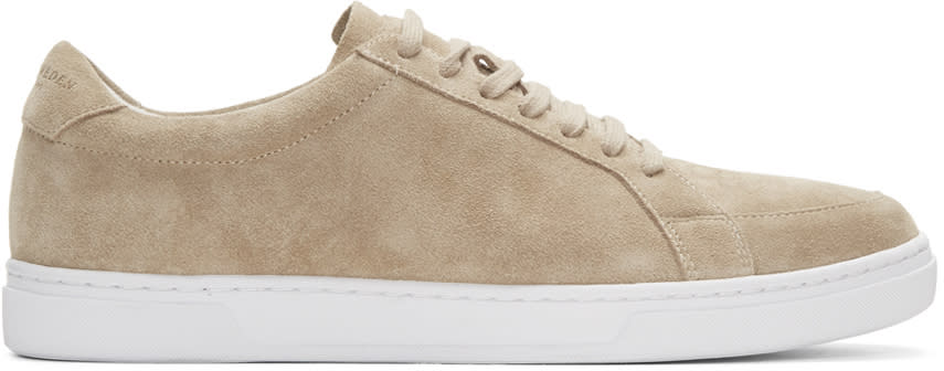 Tiger Of Sweden Tan Suede Arne Sneakers