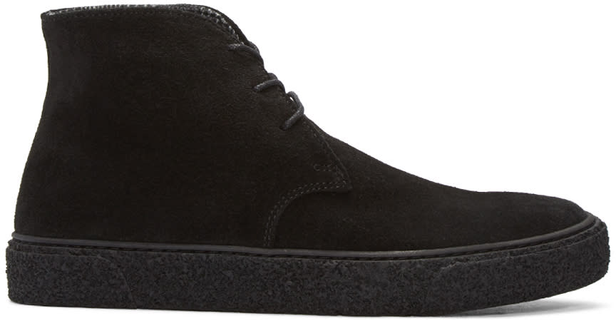 Tiger Of Sweden Black Oskar Desert Boots