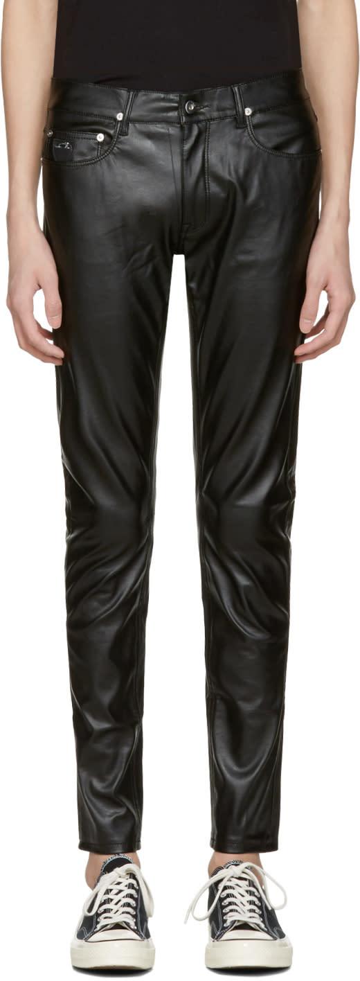 Image of April77 Black Joey Lezzer Jeans
