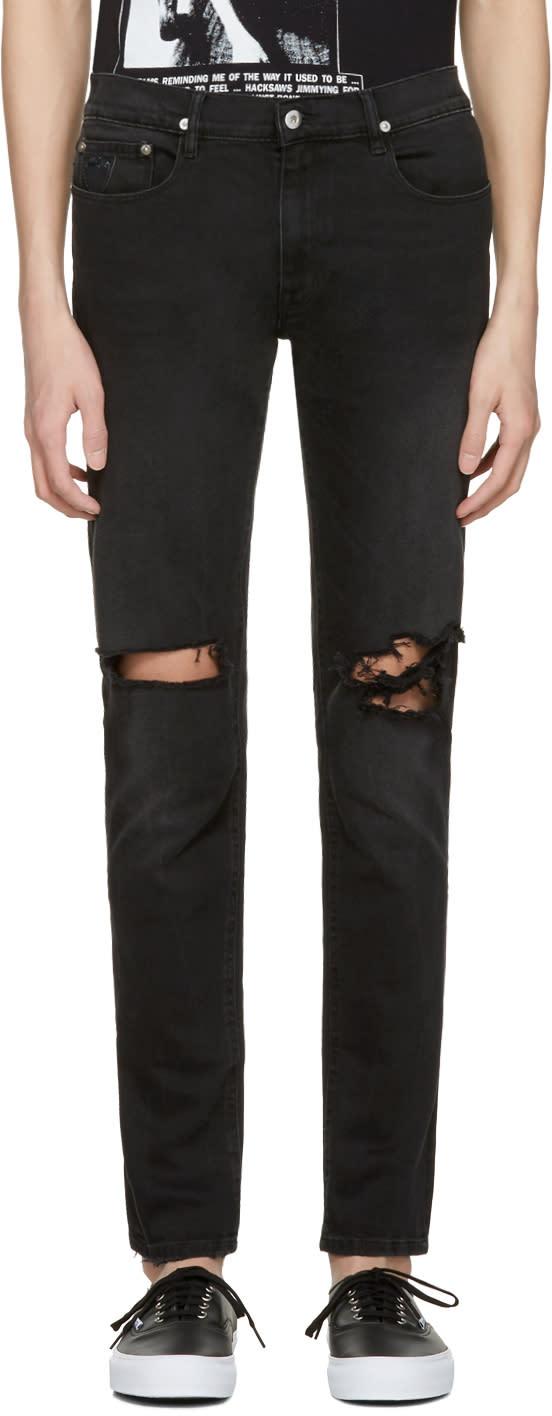 Image of April77 Black Joey Moon Hit Jeans