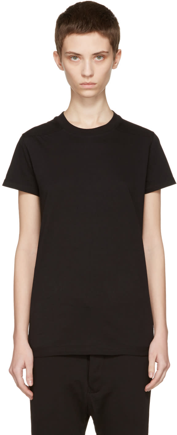 Rick Owens Drkshdw Black Crew Level T-shirt