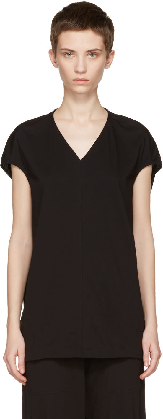 Rick Owens Drkshdw Black Floating T-shirt