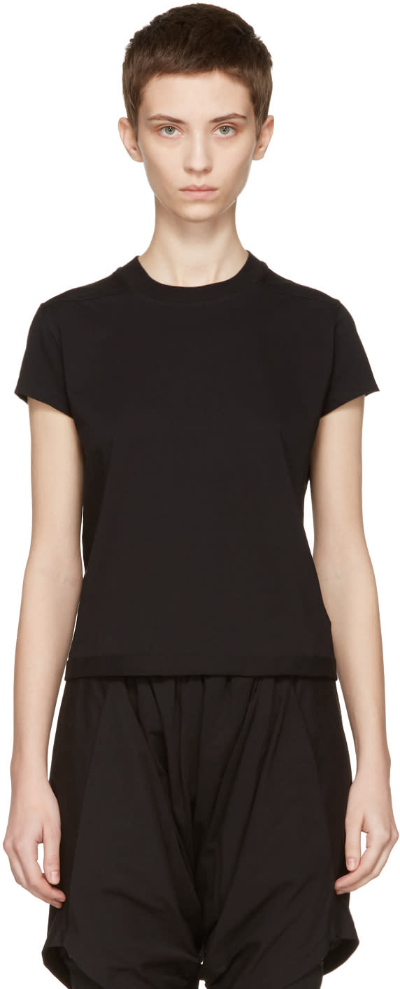 Rick Owens Drkshdw Black Small Level T-shirt