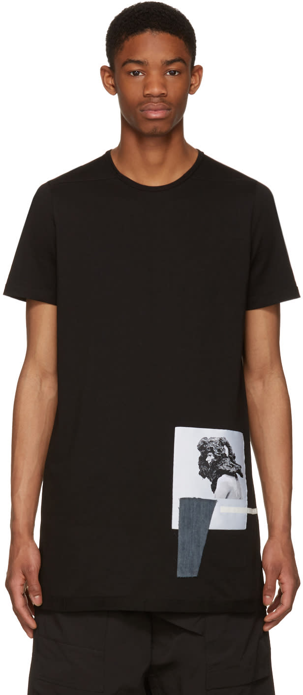 Rick Owens Drkshdw Black Level Patch T-shirt