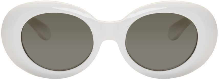 Acne Studios White Mustang Sunglasses