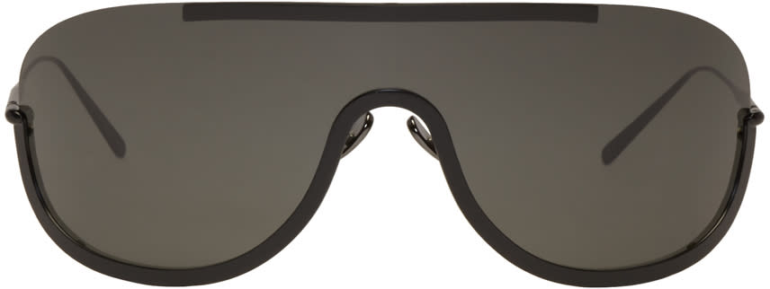 Acne Studios Black Mask Junior Sunglasses