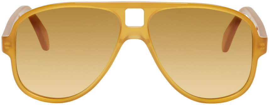 Acne Studios Gold Hole Aviator