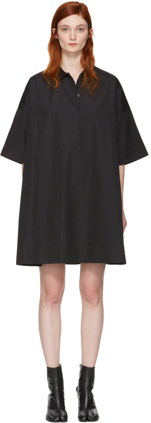 Acne Studios Black Sena Dress