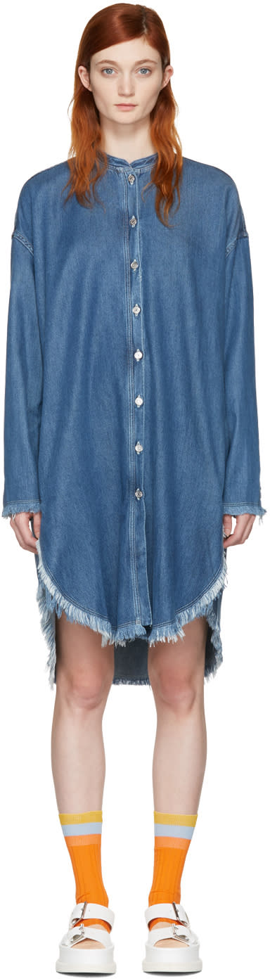 Acne Studios Blue Denim Gracie Dress