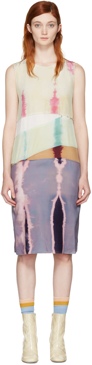 Acne Studios Multicolor Sagita Bleach Dress