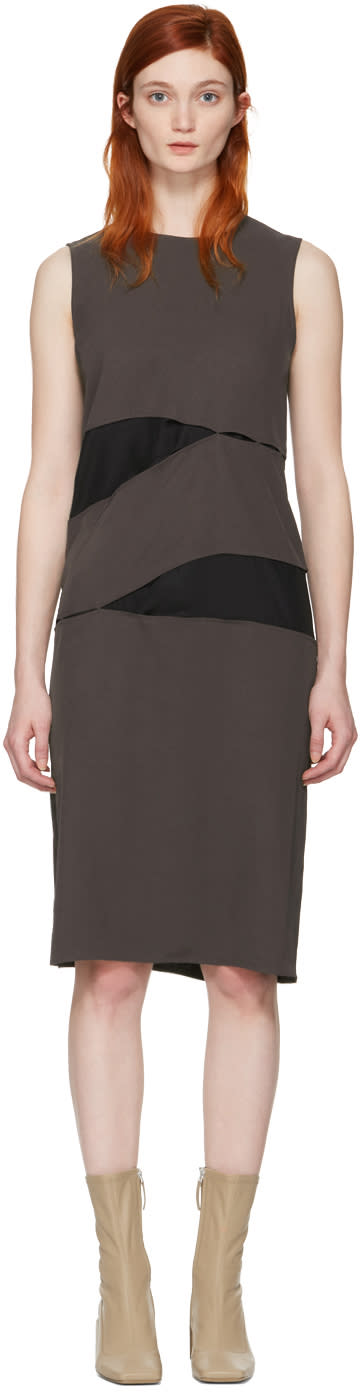Acne Studios Brown Sagita Dress