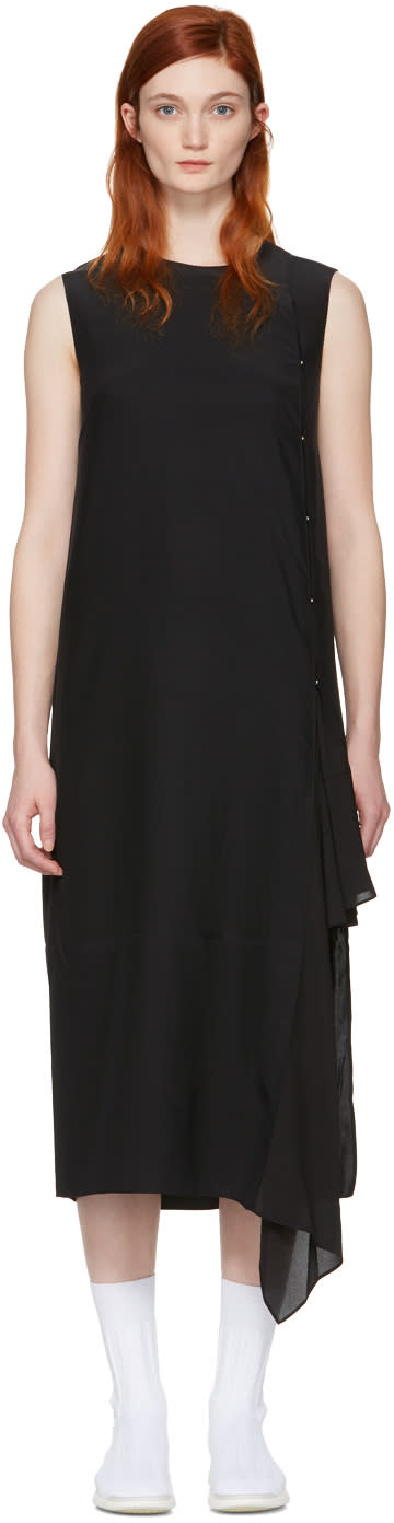 Acne Studios Black Silk Smilla Dress