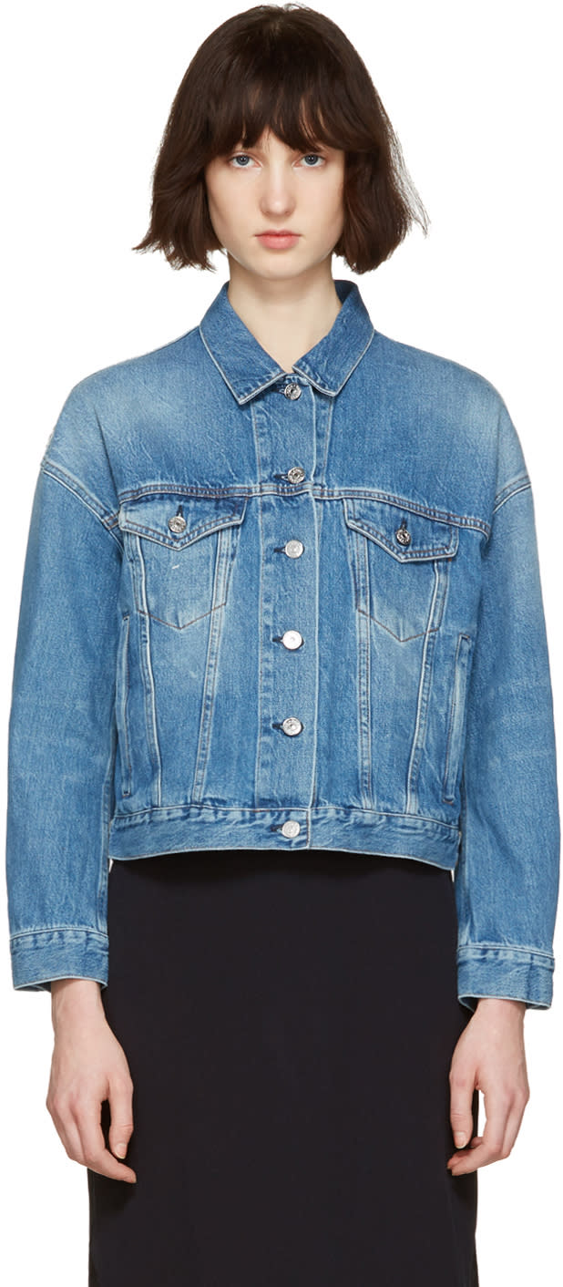 Acne Studios Blue Denim Lab Jacket