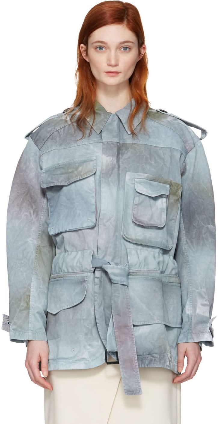 Acne Studios Blue Liv P Utility Jacket