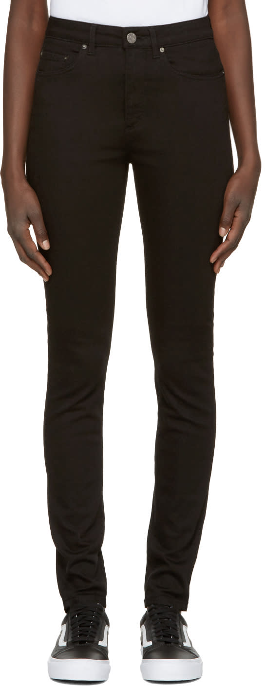 Acne Studios Black Pin Jeans