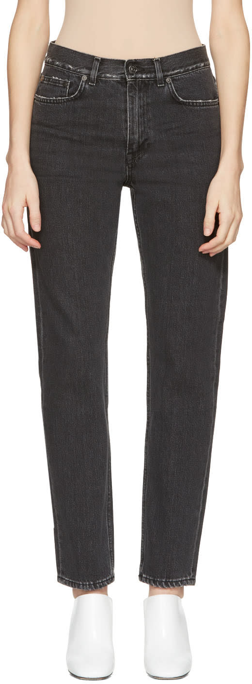Acne Studios Black Boy Jeans