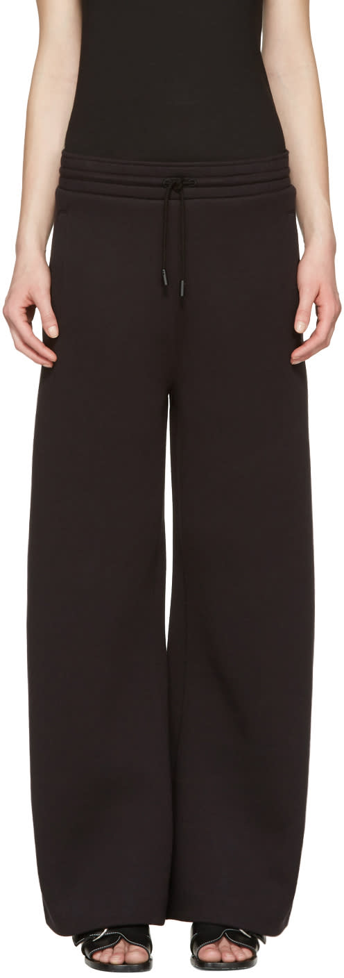 Acne Studios Black Milie Lounge Pants