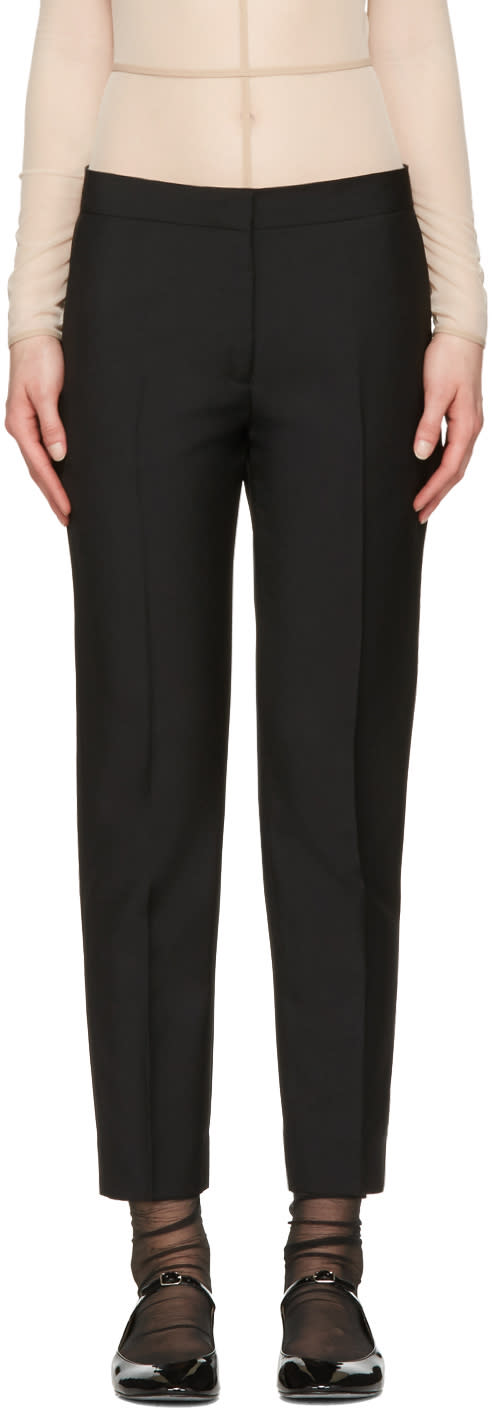 Acne Studios Black Saville Trousers