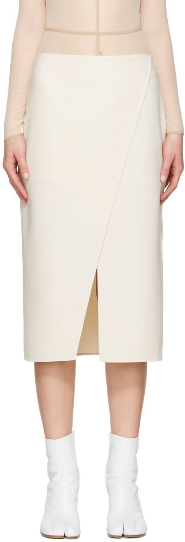 Acne Studios Ivory Pau Skirt
