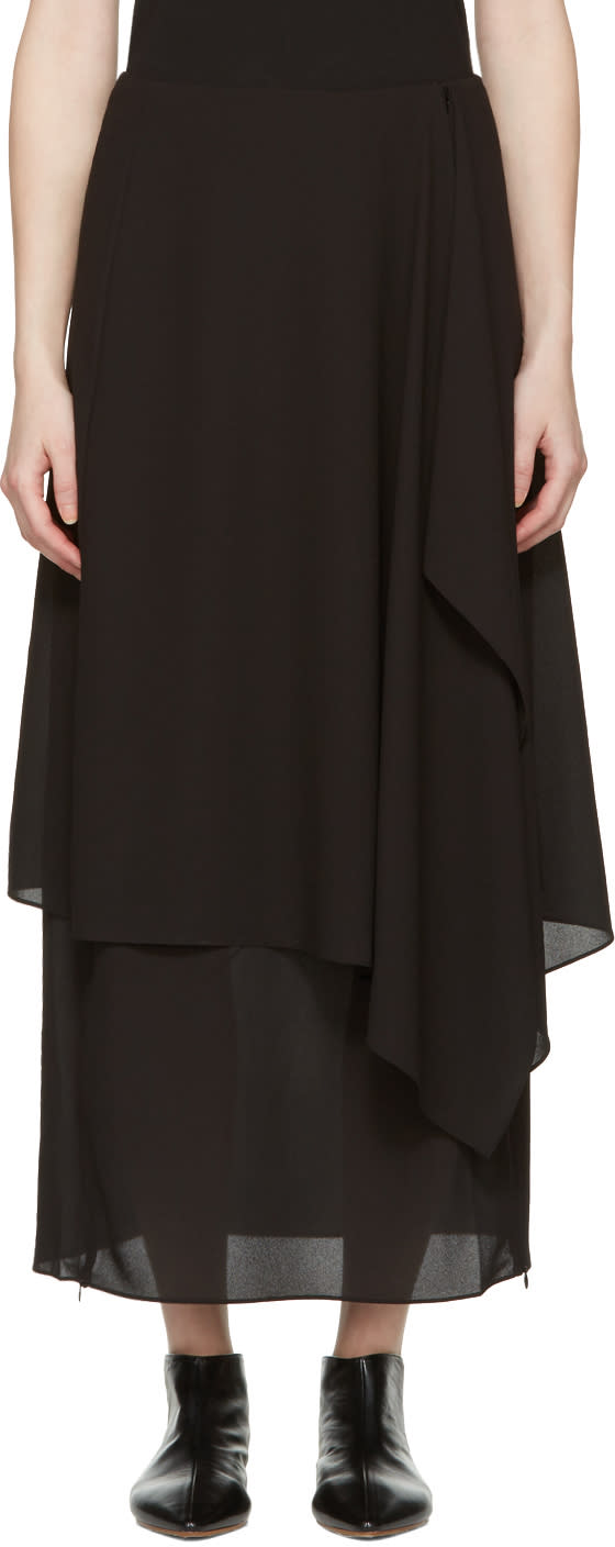 Acne Studios Black Pasha Skirt