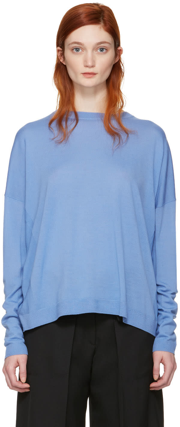Acne Studios Blue Merino Charel Sweater