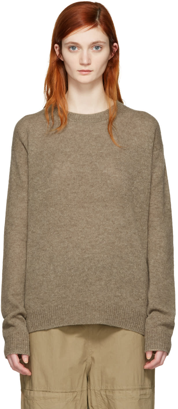 Acne Studios Brown Deniz Sweater