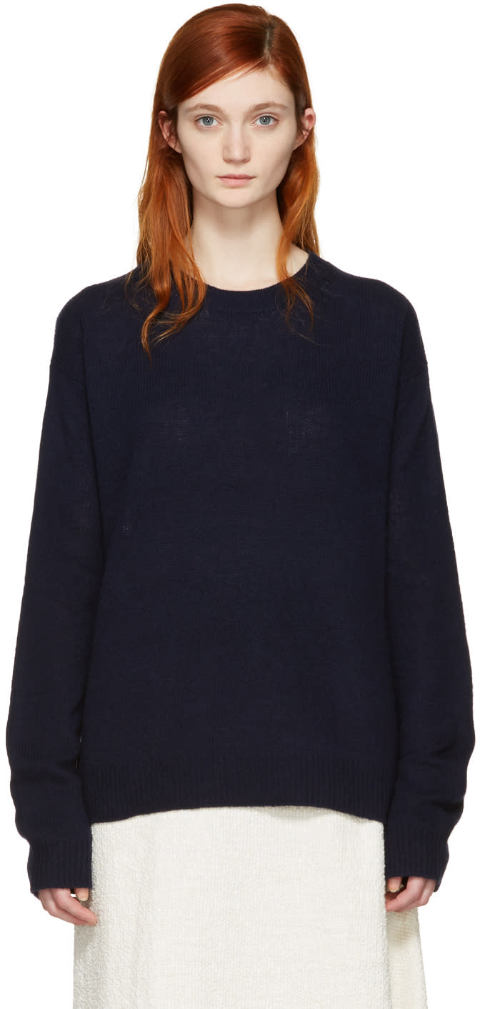 Acne Studios Navy Deniz Sweater