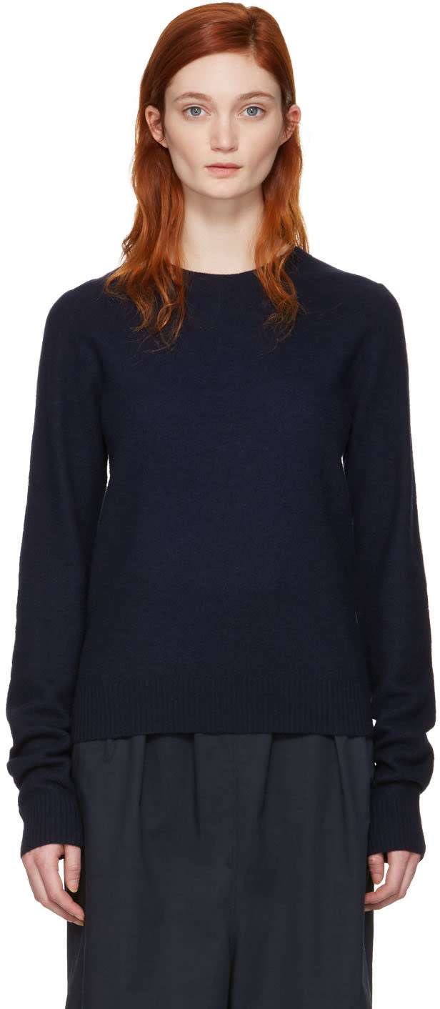 Acne Studios Navy Mari Sweater