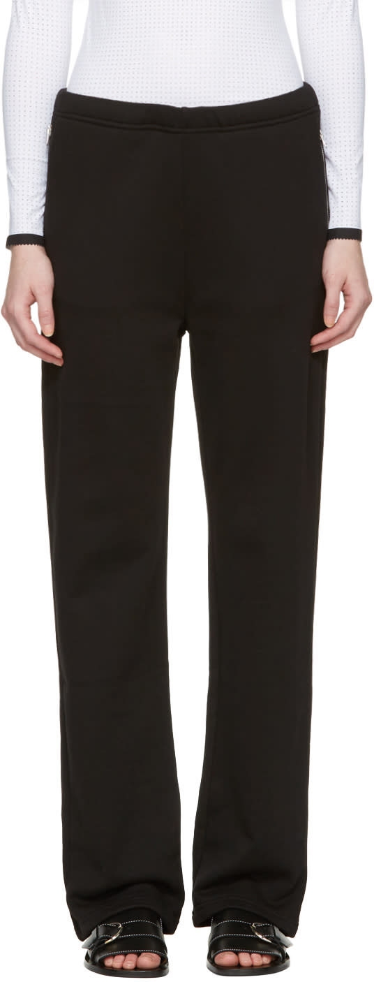 Acne Studios Black Lacie Clg Lounge Pants