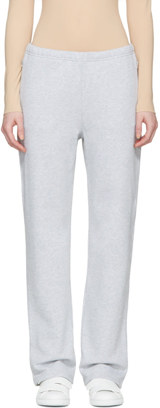 Acne Studios Grey Lacie Clg Lounge Pants