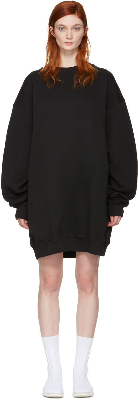 Acne Studios Black Oversized Yanin Dress