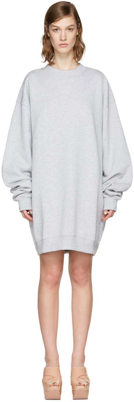 Acne Studios Grey Yanin Oversized Pullover