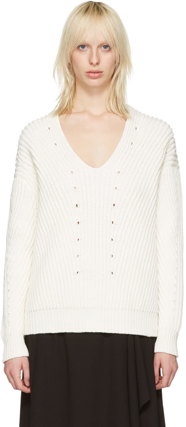 Acne Studios Off-white Bernice Sweater