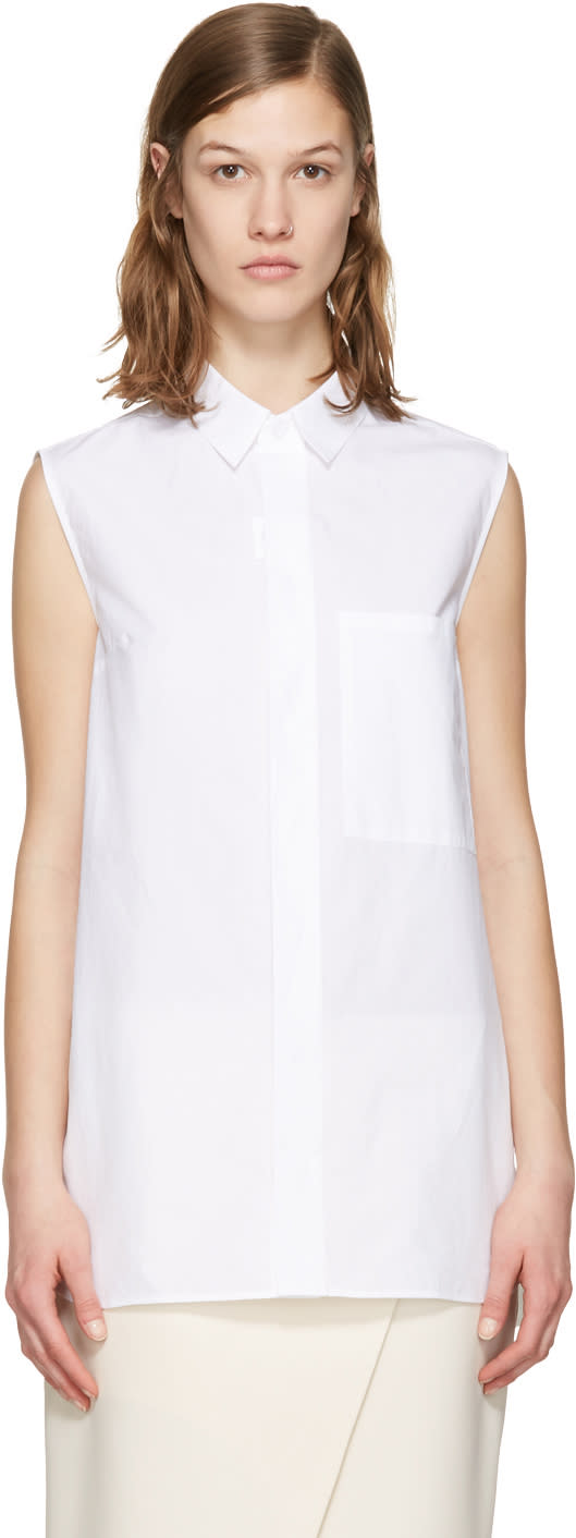 Acne Studios White Belevue Shirt