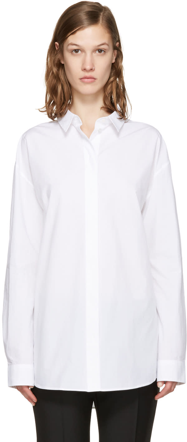 Acne Studios White Bela Shirt