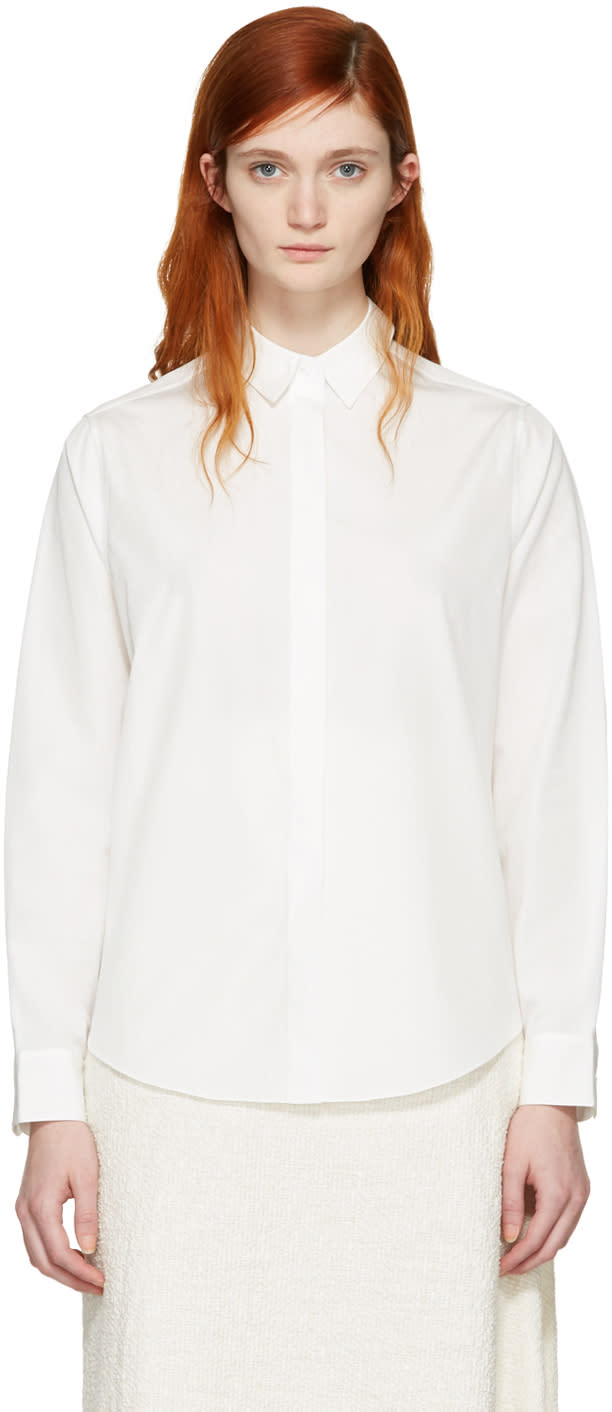 Acne Studios White Beaumont Shirt