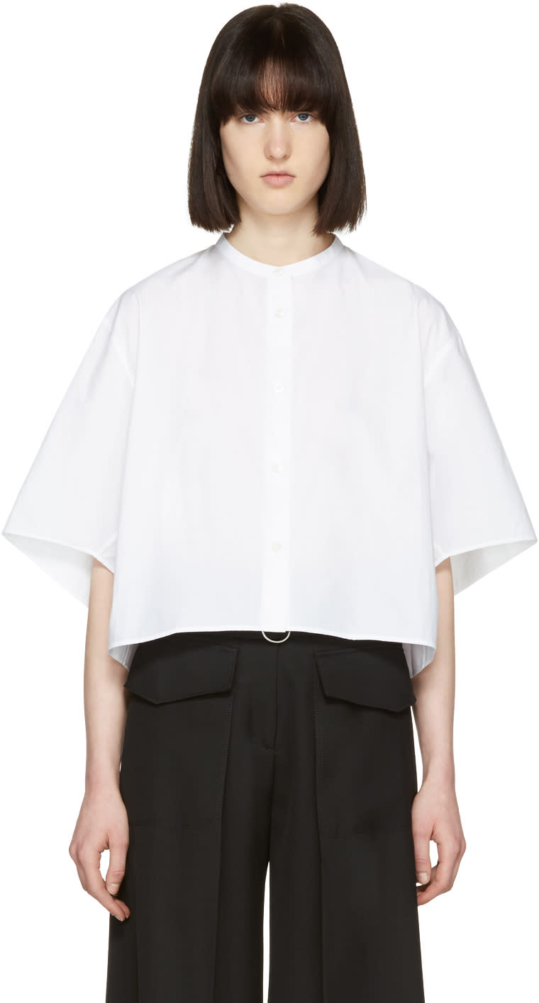 Acne Studios White Bridget Shirt