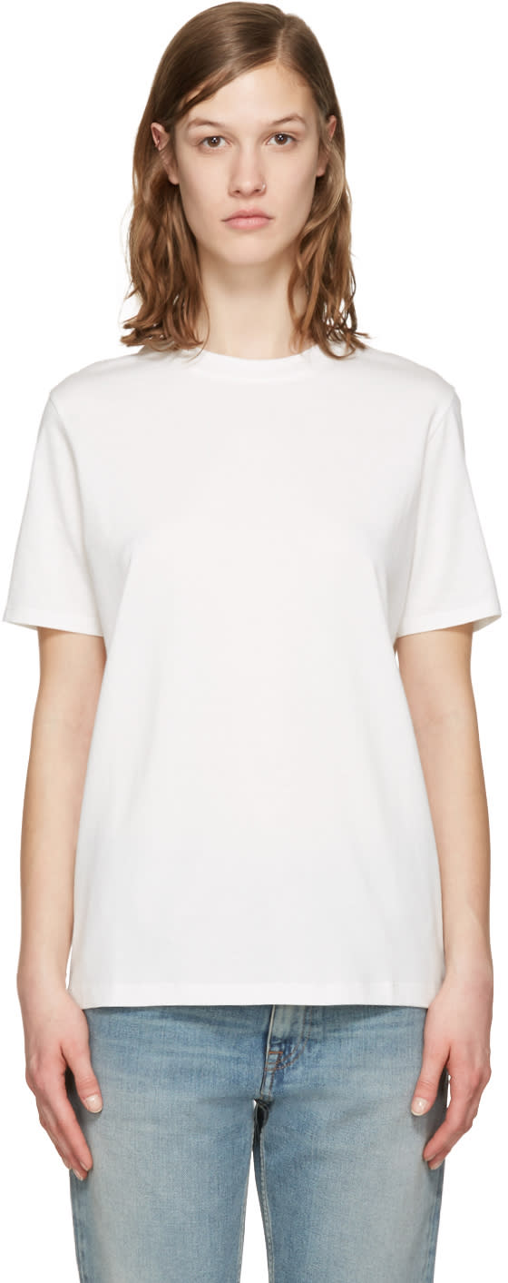 Acne Studios White Taline E Base T-shirt