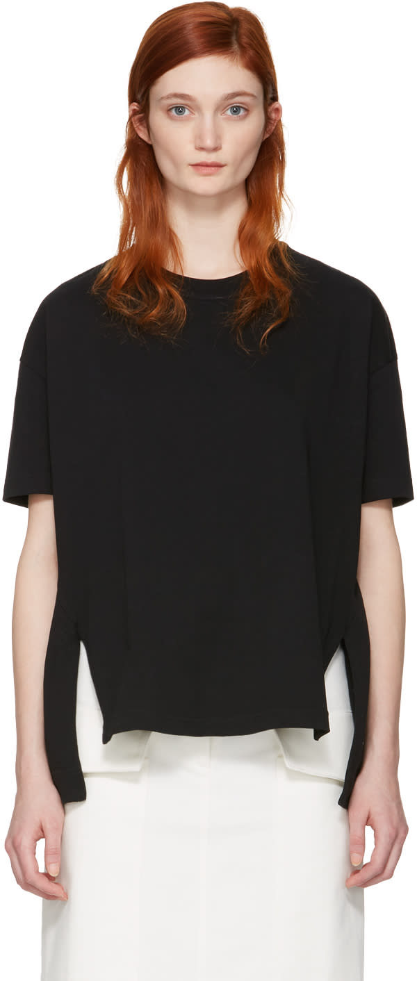 Acne Studios Black Piani T-shirt