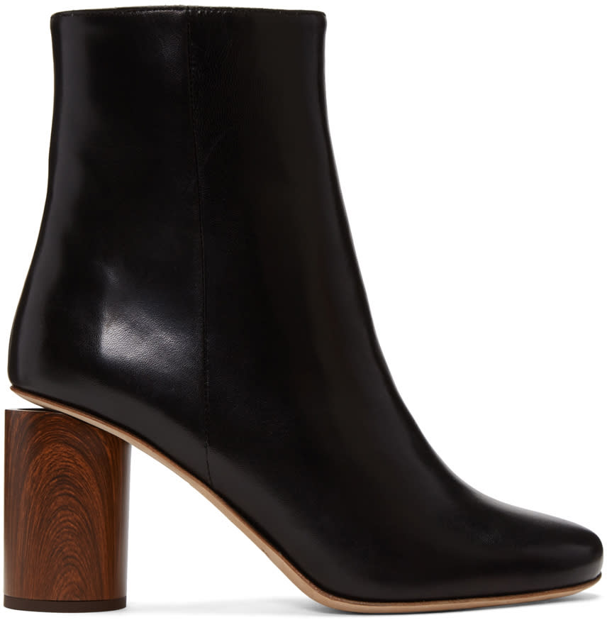 Acne Studios Black Allis Boots