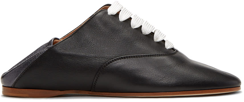 Acne Studios Black Mika Oxfords