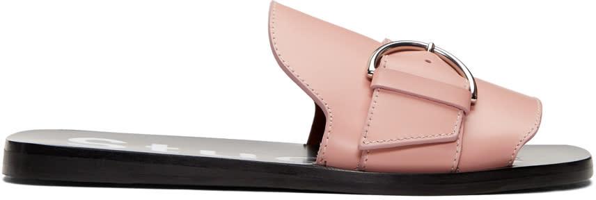 Acne Studios Pink Virgie Sandals