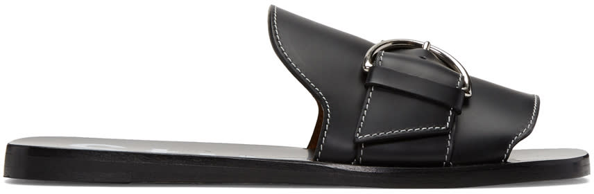Acne Studios Black Virgie Sandals