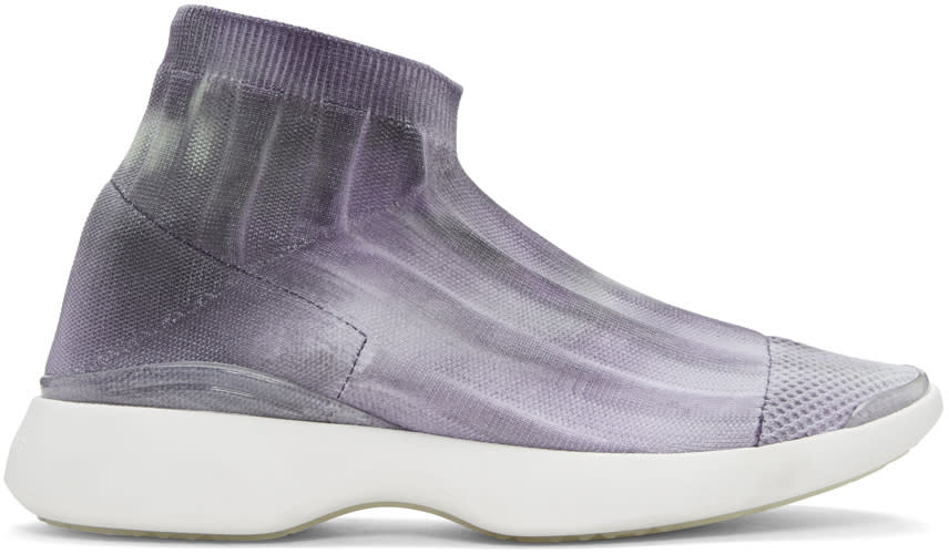 Acne Studios Ssense Exclusive Grey Batilda Sneakers